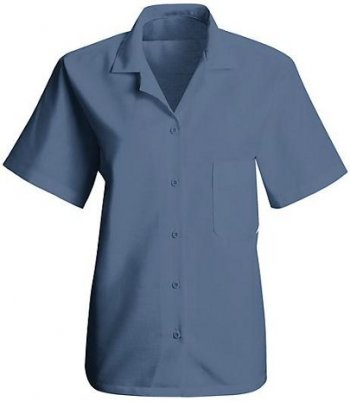 Women 39 S Housekeeping Short Sleeve Uniform Blouse Sp65