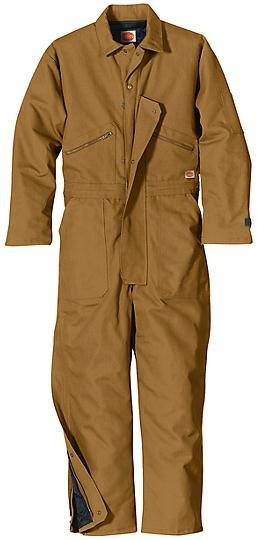 Insulated Blended Duck Coverall #CD32