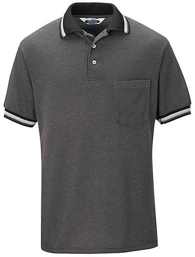 Performance knit diamond pattern shirt sk08 performance for Work uniform polo shirts
