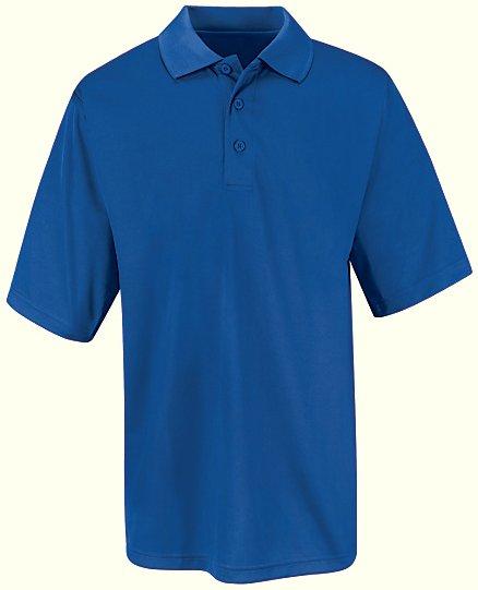 Men 39 s 100 polyester mesh polo sk46 flame for Work uniform polo shirts