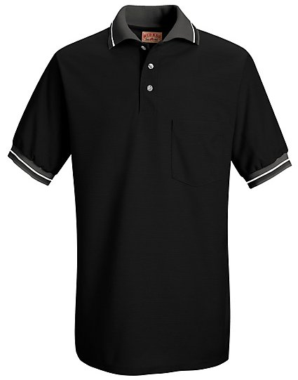 Performance knit raised jersey shirt sk50 for Work uniform polo shirts
