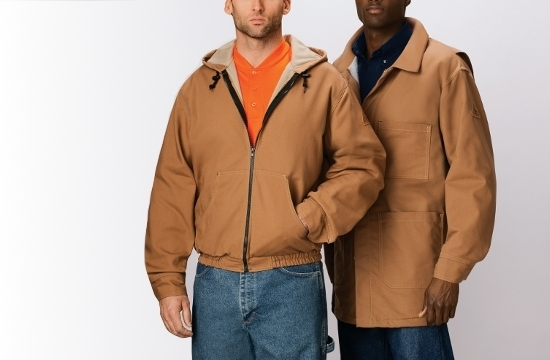 Flame Resistant Jackets | #JLC4, #JLH4 Brown Duck
