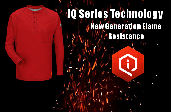 IQ Series Fire Resistant Clothing - New Comfort Level